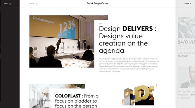 Top 10 xu hướng thiết kế website nổi bật 2017