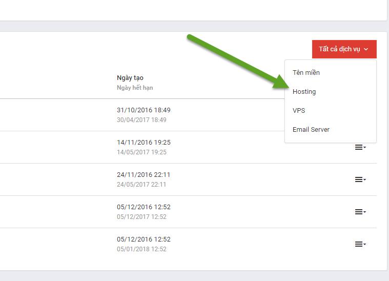 Hướng dẫn thay đổi tên miền cho Hosting tại iZdesigner Hướng dẫn thay đổi tên miền cho Hosting tại iZdesigner