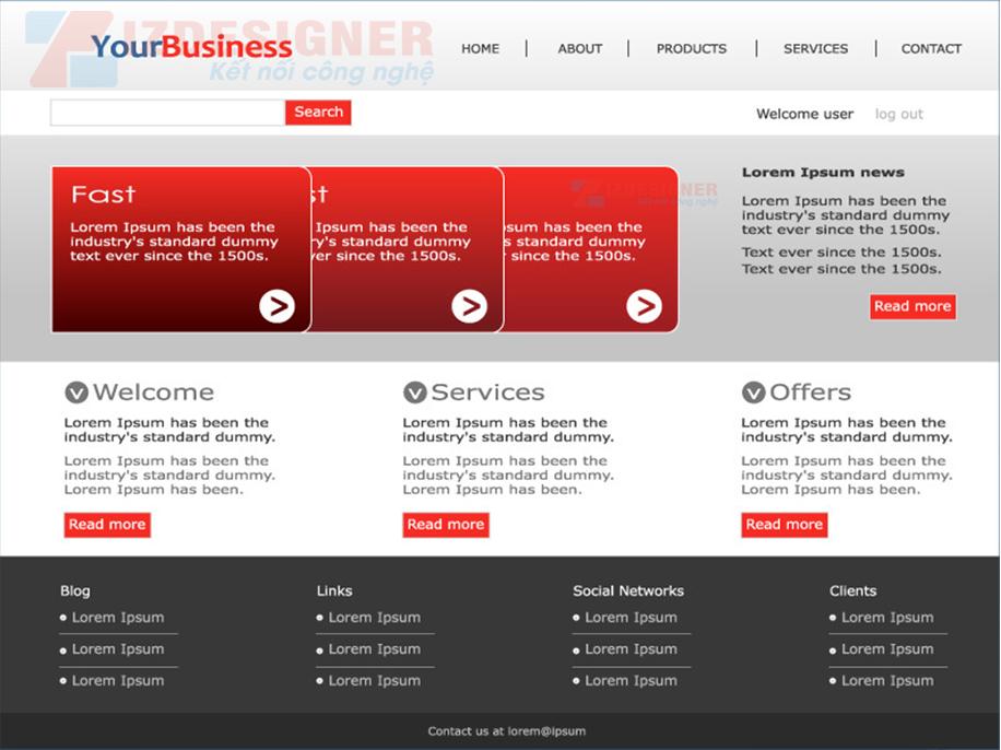 Thiết kế website doanh nghiệp cần những yếu tố gì ? Thiết kế website doanh nghiệp cần những yếu tố gì ?